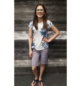 POINT ZERO AMETHYST BERMUDA SHORT