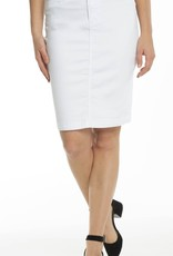CARRELI WHITE DENIM SKIRT