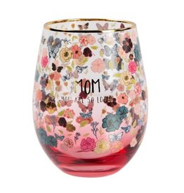 HEARTFELT LOVE STEMLESS WINE GLASS