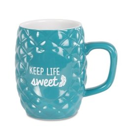 LIVIN ON THE WEDGE LIFE SWEET PINEAPPLE MUG