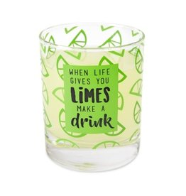 LIVIN ON THE WEDGE 10oz HIGH BALL GLASS