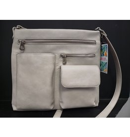 PINKSTIX MULTI POCKET CROSSBODY HANDBAG