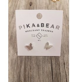PIKA & BEAR STUD EARRINGS