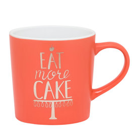 EAT MORE CAKE MUG