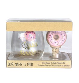 WINE GLASS/STOPPER DONUT