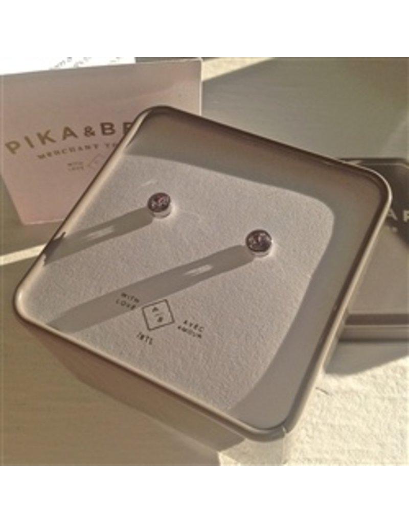 PIKA & BEAR SOLSTICE STERLING/SWAROVSKI EARRINGS