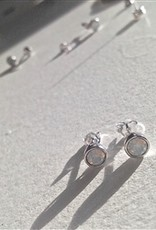 SOLSTICE STERLING/SWAROVSKI EARRINGS