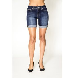 CARRELI HIGH RISE BLASTED RINSE SHORT