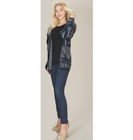 PAPILLON GLOBAL PRINTED SOFT CARDIGAN