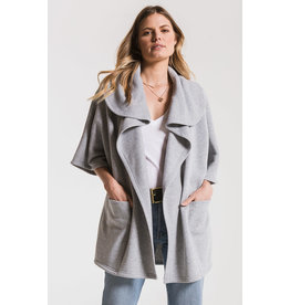 Z SUPPLY FLEECE OVERSIZED CARDIGAN