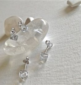 PIKA & BEAR CHENOO SWAROVSKI STERLING EARRINGS