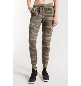 Z SUPPLY GREEN CAMO JOGGERS