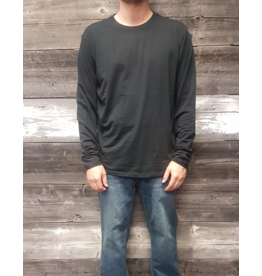 POINT ZERO L/S STRETCH COTTON TOP