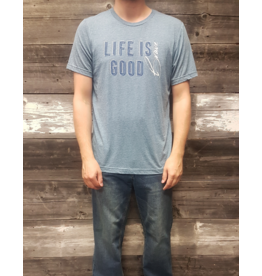 AUTHENTIC BRAVE APPAREL LIFE IS GOOD T-SHIRT