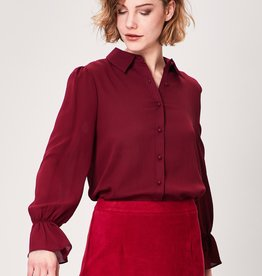 ANGEL EYE KORA BURGUNDY BLOUSE