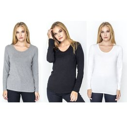 CARRELI 3 PACK LONG SLEEVE TOP