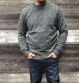 POINT ZERO CREW NECK TEXTURED SWEATER