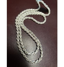BIJOUX STERLING SILVER CURB CHAIN-16""