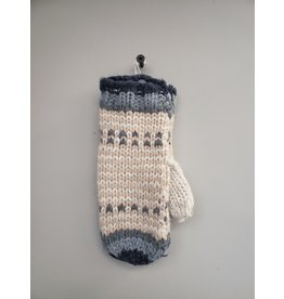 LEMON COTTAGE SKI MITTEN - INDIGO