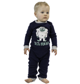 LAZY ONE INFANT YETI UNION SUIT