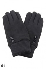 FUR LINED SOFT VELVET GLOVE