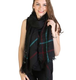 MULTI LINE STRIPED SCARF