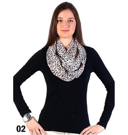 GRAND INT'L CHIFFON INFINITY SCARVES
