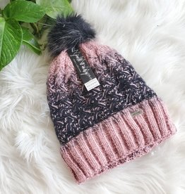 JACK & MISSY PLUSH KNIT POM POM TOQUE