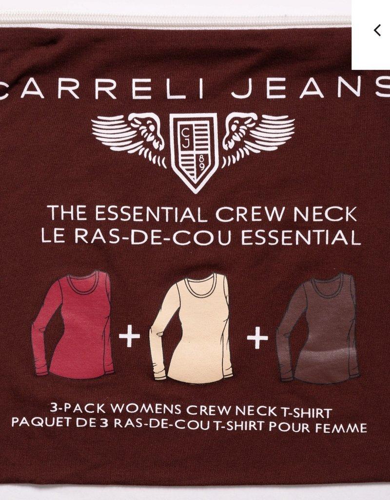 CARRELI 3 PACK LONG SLEEVE TOP