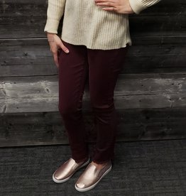CHARLIE B MULBERRY TWILL PANTS