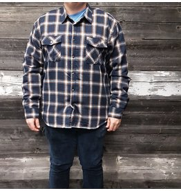POINT ZERO SHERPA LINED PLAID SNAP UP JACKET