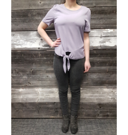 POINT ZERO AMETHYST TIE FRONT TOP