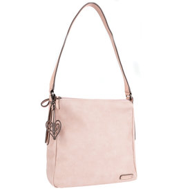 ALBERTO BLUSH SHOULDER BAG