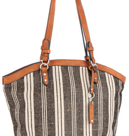 MALISSIA WOVEN SHOULDER BAG
