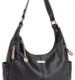 ALBERTO BLACK DAROULA PURSE