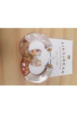 PIKA & BEAR MOD ACETATE HOOP EARRINGS - 4cm