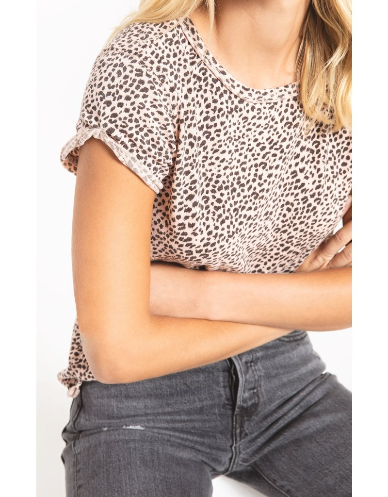Z SUPPLY PALEB LEOPARD TEE