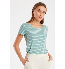ICHI YULIETTA STRIPED TEE