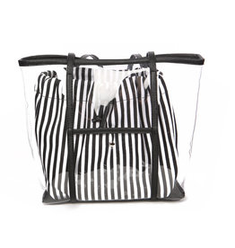 TRANSPARENT TOTE w/POUCH