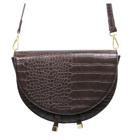 HALF MOON CROSSBODY HANDBAG