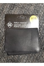 LEATHER RFID CARD WALLET