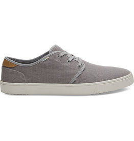 TOMS MENS CARLO HERITAGE CANVAS SHOE - GREY
