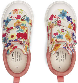 TOMS TODDLER DOHENY FLORAL PRINT SHOE