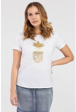 TRIBAL PINEAPPLE GRAPHIC TEE