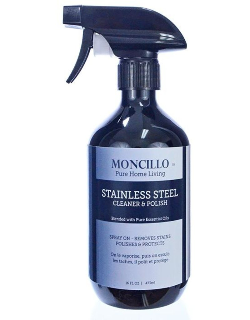 MONCILLO NATURAL STAINLESS STEEL CLEANER/POLISH