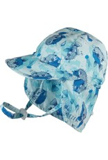 KOORINGAL BABY BOYS BLUE PUFFER FISH HAT