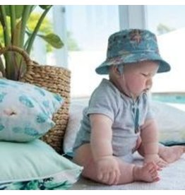 KOORINGAL BABY BOYS BLUE BRODEN HAT