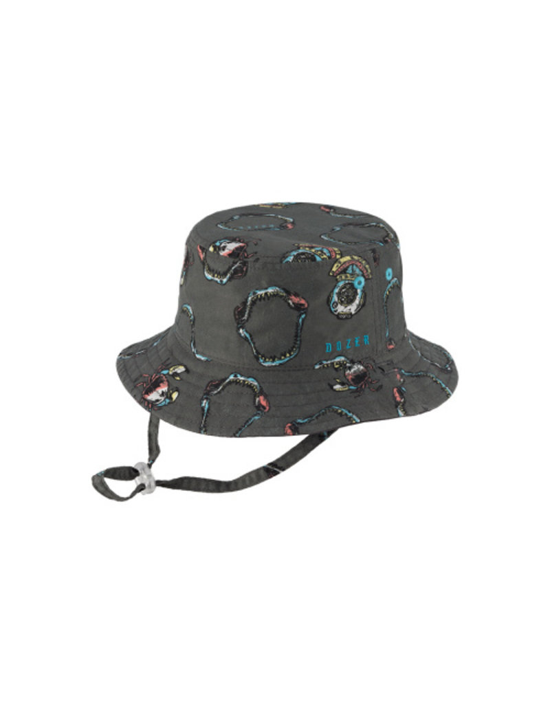 KOORINGAL BOYS CHARCOAL TURNER HAT