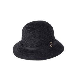 KOORINGAL LADIES BLACK CASSIE HAT