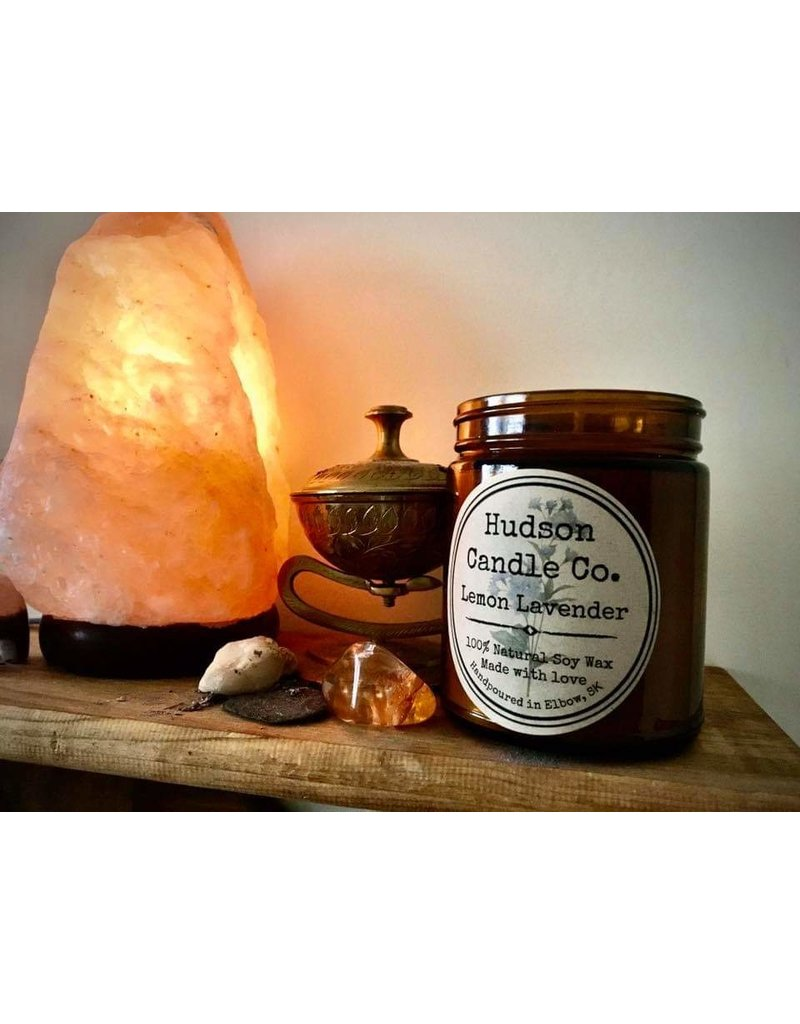HUDSON CANDLE CO. 9oz SCENTED SOY CANDLE